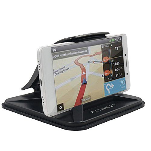 Cell Phone Holder for Car, Aonkey Dashboard Car Phone Mounts for iPhone 7 Plus 8 Plus X, Non-slip GPS Holder Car Cradles for Samsung Galaxy Note 8 S8 Plus S7 and 3-7 inch Smartphone or GPS Devices. For product info go to:  https://www.caraccessoriesonlinemarket.com/cell-phone-holder-for-car-aonkey-dashboard-car-phone-mounts-for-iphone-7-plus-8-plus-x-non-slip-gps-holder-car-cradles-for-samsung-galaxy-note-8-s8-plus-s7-and-3-7-inch-smartphone-or-gps-devices/