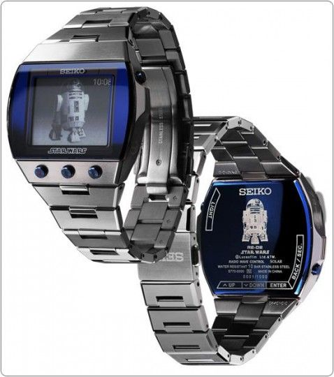 Seiko dévoile ses montres Star Wars