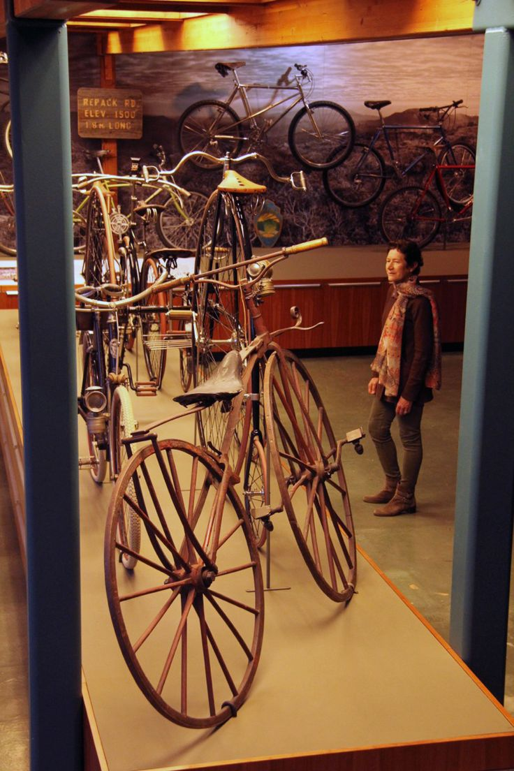 Marin Museum of Bicycling and Mountain Bike Hall of Fame, Fairfax, California