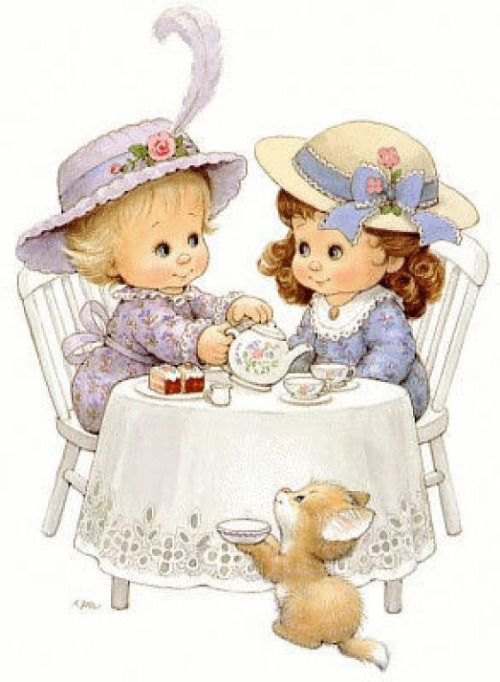 Afternoon tea | Tea Time | Pinterest) | Artists for kids