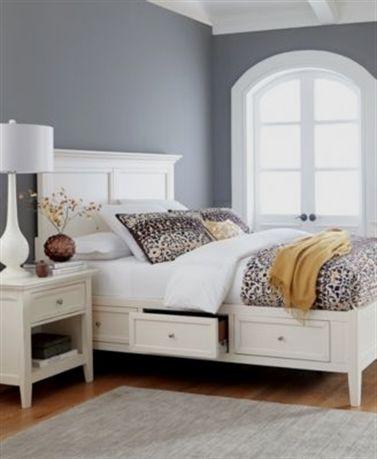 Sanibel Storage Bedroom Furniture Collection #BedroomFurnitureSets