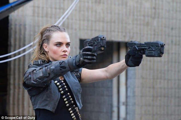 Cara Delevingne is a gun-toting killer inCall Of Duty trailer