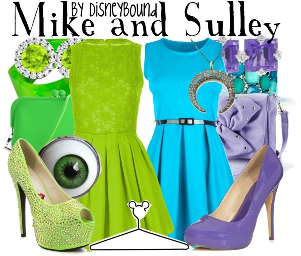 """Mike and Sulley"" by lalakay on Polyvore"