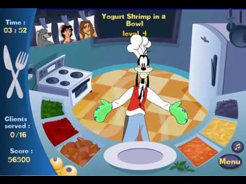 mickey mouse frenzy kitchen animal games online kids