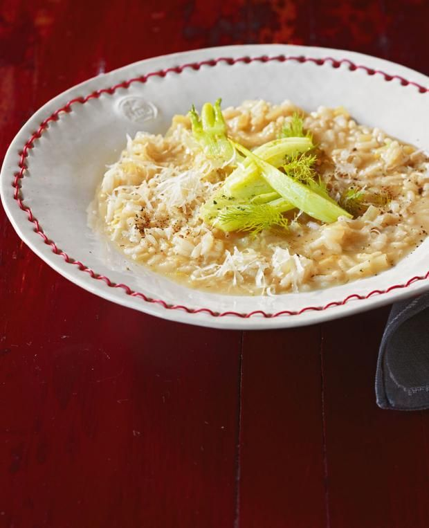Fenchelrisotto