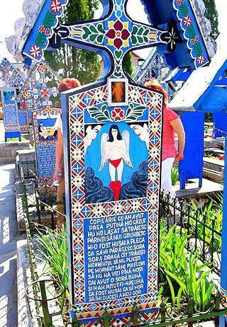 Cimitirul Vesel - Săpânța - Romania