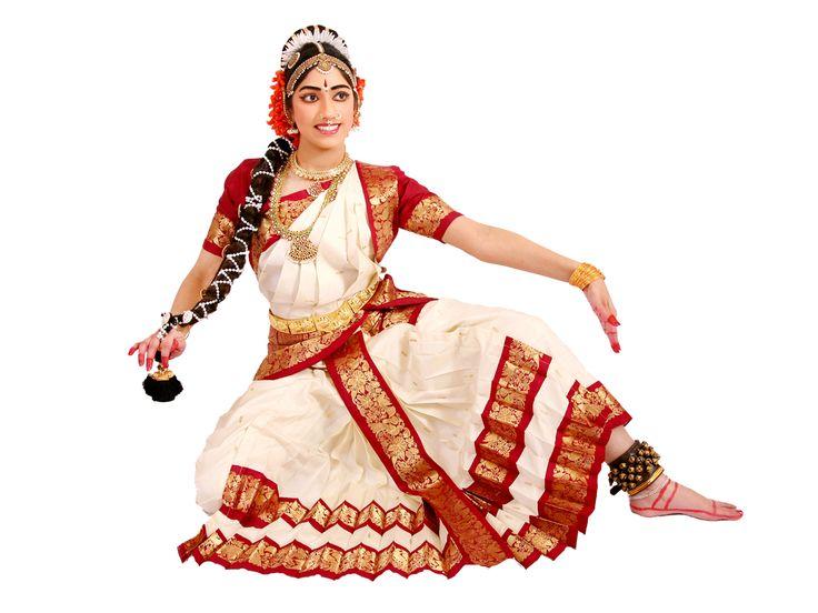 A Kuchipudi dancer