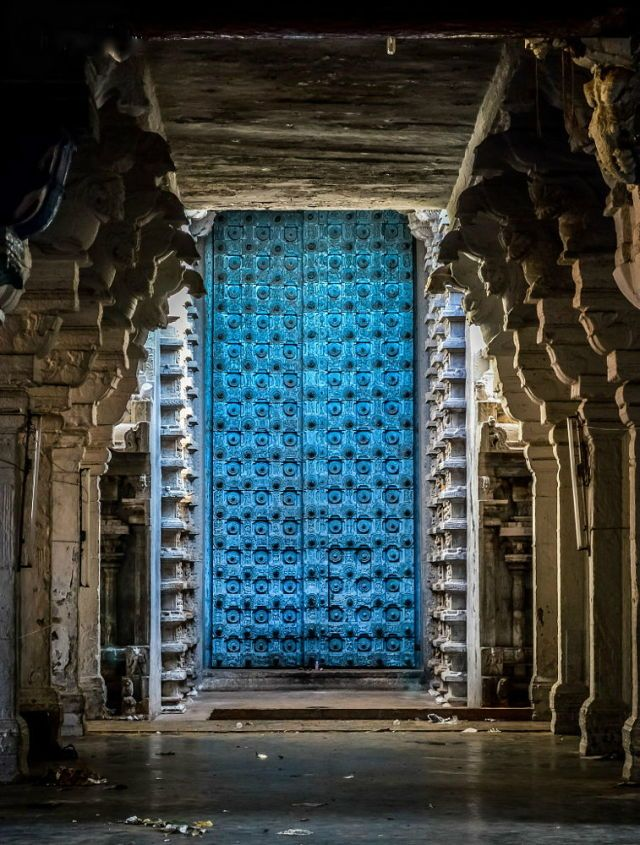 Srirangam temple , TN , India.