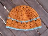 """Sweet Potato"" baby hat #crochet pattern by Erica Jackofsky, free at crochet.about.com"