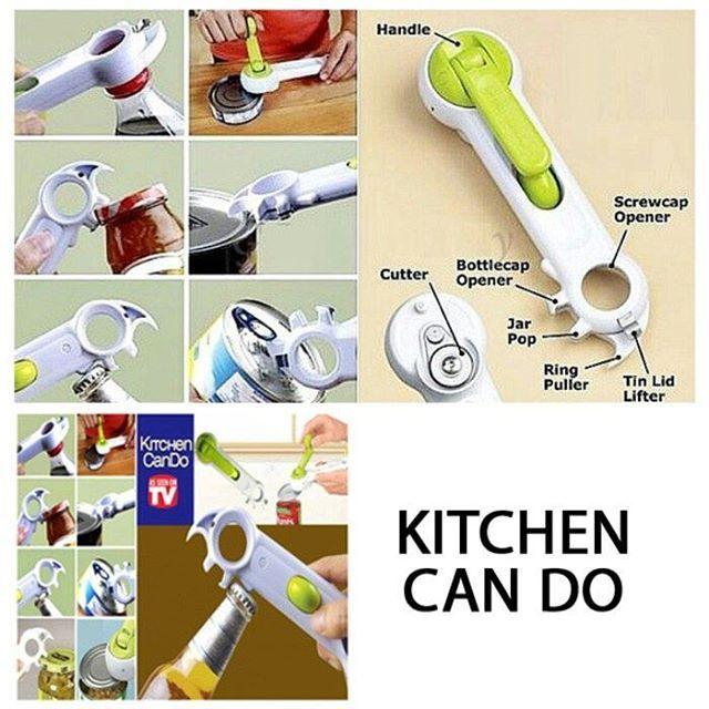 Pembuka Kaleng Dan Botol 7 In 1 Bahan Plastik Stainless Ukuran 6 X 20 5 Cm Dapur Anda Penuh Dengan Peralatan Seperti