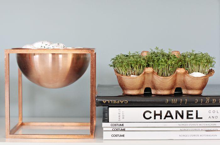 Copper By Lassen, Kubus bowl, Easter