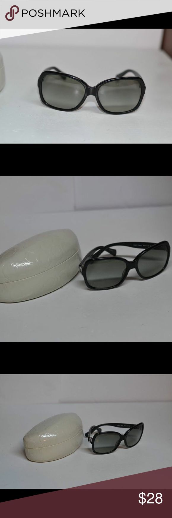 Coach Sunglasses with case Nice Pair of Authentic Coach Sunglasses with Case Glass in Very Good Condition Coach Accessories Sunglasses