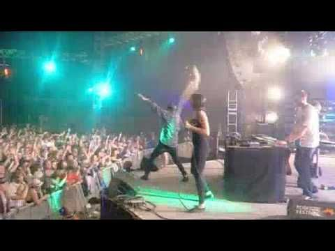 schlachthofbronx ft spoek mathambo - too high (live at roskilde 2010)