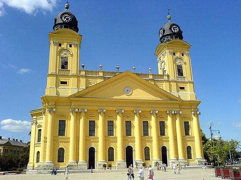 "Debrecen: Nagytemplon, or ""The Great Church"""