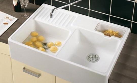 Shallow Apron Sink : ... Home plan: kitchen Pinterest Kitchen sinks, Kitchens and Sinks