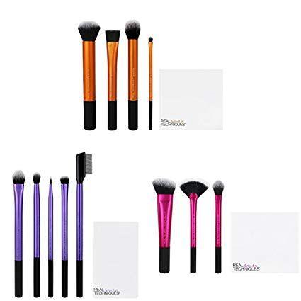 real techniques enhanced eye shadow makeup brush set