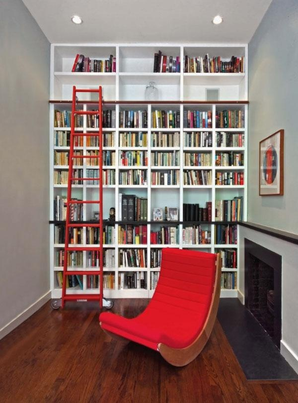 Simple Home Library Design