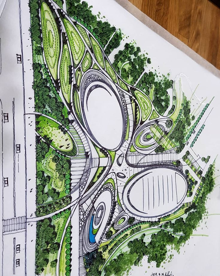 Sportspark New Bs Landscape Architecture Design Drawing Landscapeplan Landscape Architecture Plan Landscape Architecture Design Architecture Design Drawing