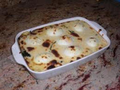 Oeufs florentine - Recette de cuisine Marmiton : une recette