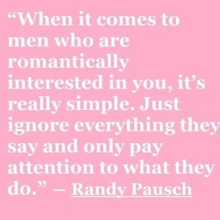 "Randy Pausch - if you haven't read ""The Last Lecture"", you're missing out on something amazing! neelu"