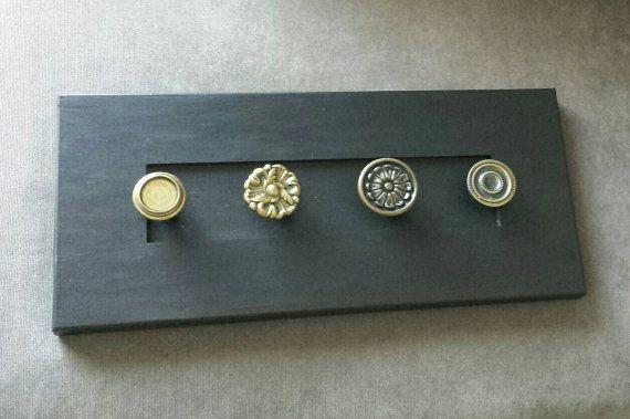 Necklace Holder / Chalkboard / Blackboard / Jewelry by RiversToSea