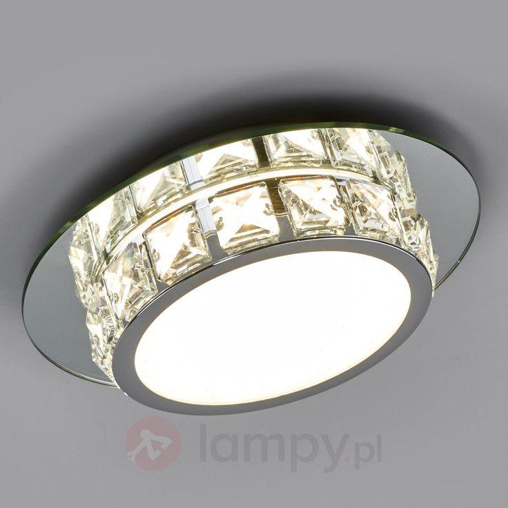 Melek – lśniąca, okrągła lampa sufitowa LED 4018041