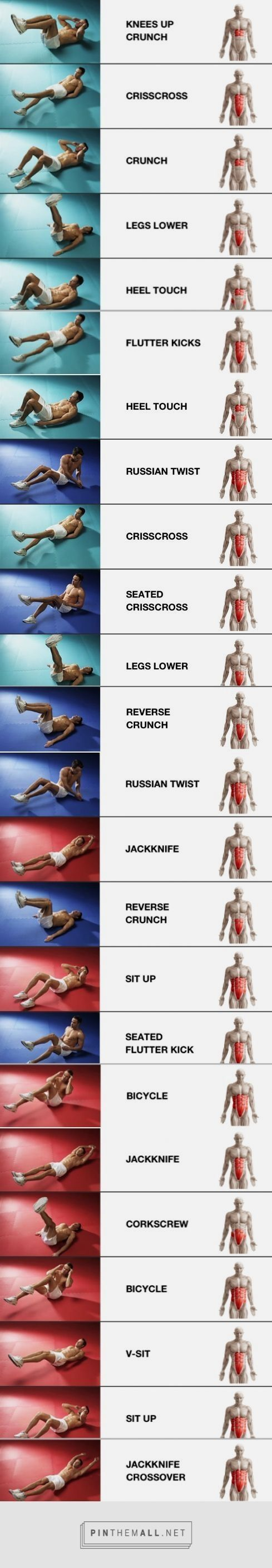 ab workouts at the gym #coreworkouts. How to Hit the Golf Ball Further – Swing S…