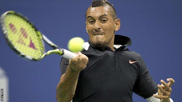 Us Open 2015 Nick Kyrgios Learns To Keep Mouth Shut Source Bbc News C 2015 Bbc Usopen Tennis Sport Learnaboutt Tennis Camp Tennis Tennis Players