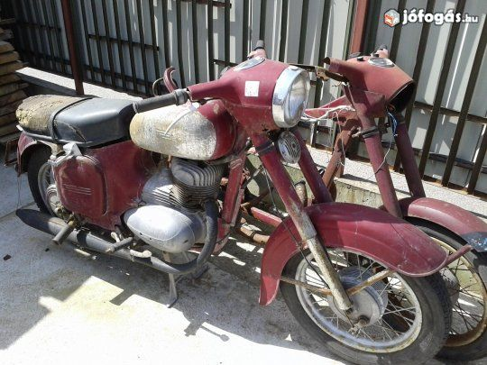 Jawa 250 fellelt állapotban, 2. image