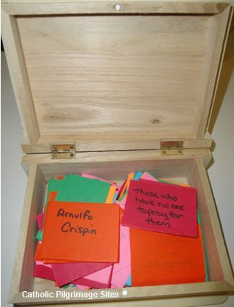 "Create a ""purgatory box"" to pray for the Holy Souls in Purgatory for All Souls Day and throughout the year"