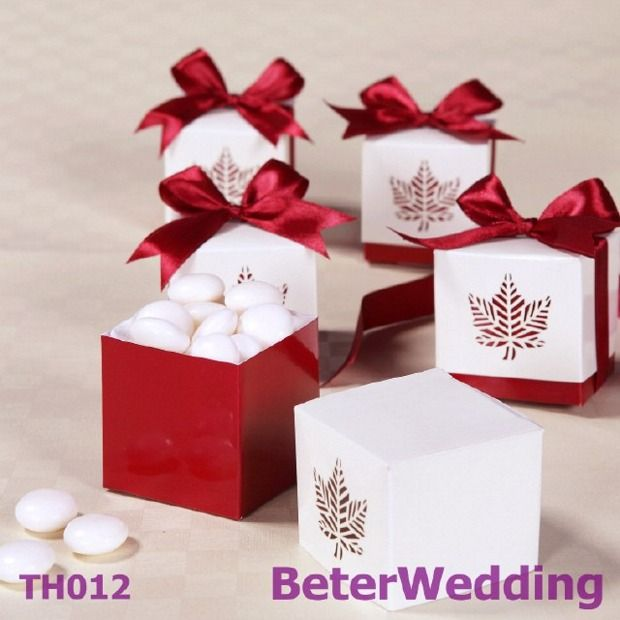 70 best taobao wedding favor boxes images on pinterest favors 12pcs th012 fall leaf favor box unique wedding decoration httpitemtaobao junglespirit Images