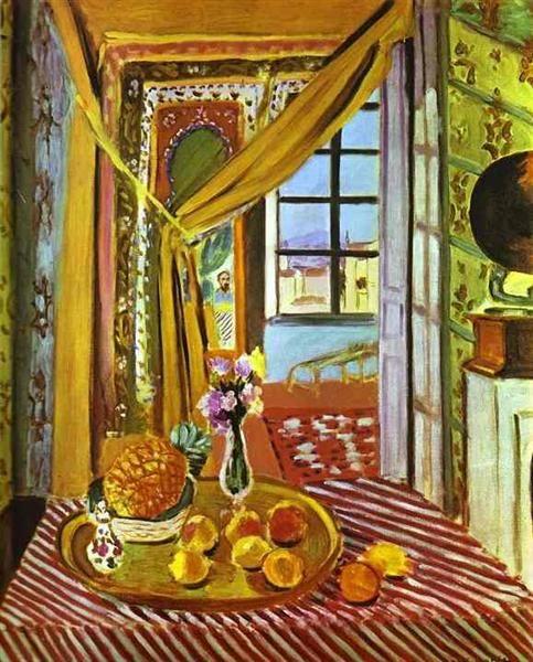 Interior with Phonograph - Matisse Henri
