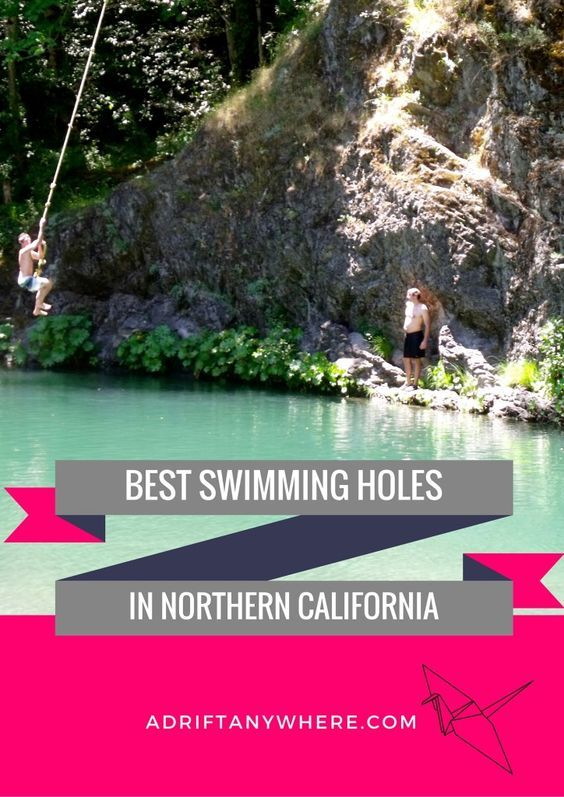 Beautiful swimming holes in Northern California to cool off in during the summer!