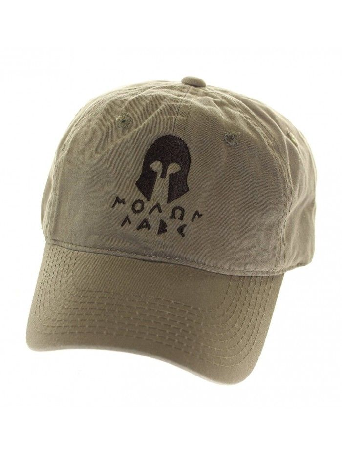 Men s Cotton Hat Spartan Helmet 2 - Olive Black - CX11NZBI5YL ... 899f981ee43