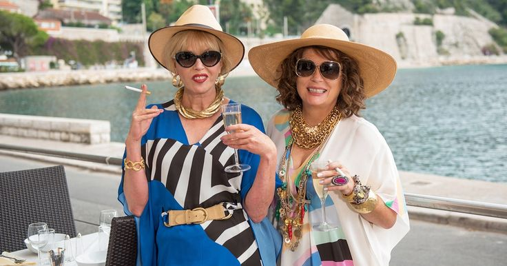 """'Absolutely Fabulous: The Movie' Review: Lush for Life: Ever since Absolutely Fabulous swanned onto the BBC in 1992, there's been talk of a feature-film adventure — and now, 24 years later, Absolutely Fabulous: The Movie has left Brexit-land to splash down on our shores. Moviegoers are now in the enviable position of spending decadent quality time with P.R. guru Edina """"Eddy"""" Monsoon (Jennifer Saunders) and her fas...This article originally appeared on www.rollingstone.co…"""