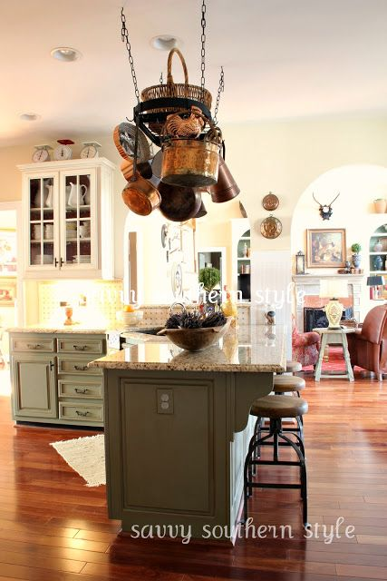 196 best paint colors images on pinterest home ideas for Southern style kitchen design