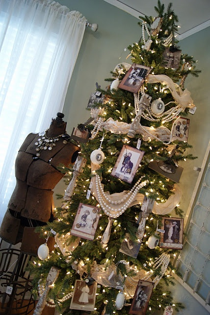 I Love This Idea Of Adding Pictures, Especially For A Master Bedroom or Guest Room Tree~