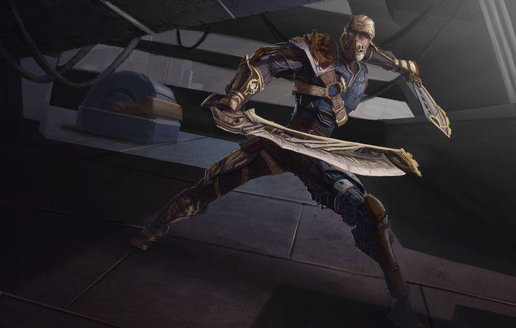 ArtStation - steampunk warrior, Hugo Mejicanos