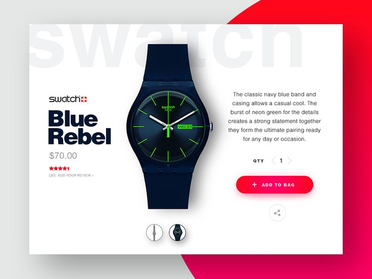 Product Card - Watch by Devang Patel ☯