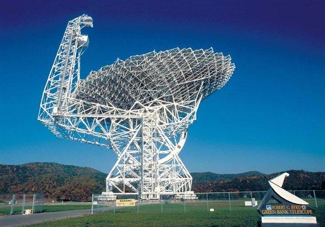 Observaciones de casi 700 estrellas con el Green Bank Telescope (GBT) en Virginia Occidental, como parte del proyecto de búsqueda de civilizaciones extraterr...