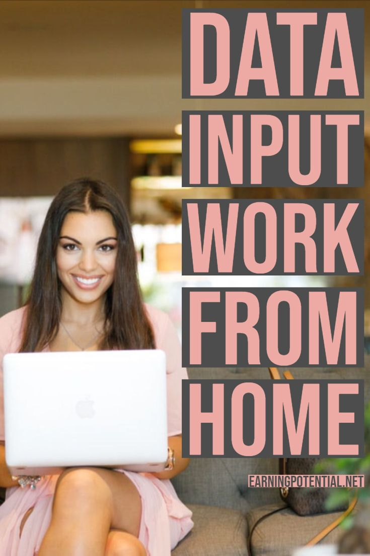 Data Input Work from Home