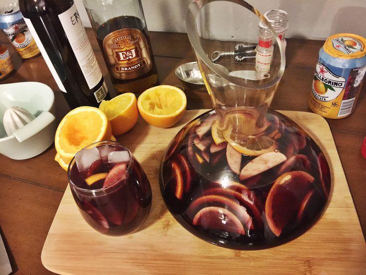 Where can you find a classic sangria recipe?