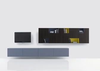 Poliform bookcases and storage | Office/TV room | Pinterest | Storage, Tv unit furniture and Tv ...