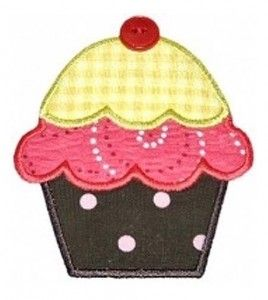 Cup Cakes…appliques for dresses