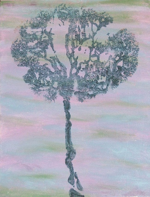 Beautiful tree? look again its a placenta print. repetitions of nature!