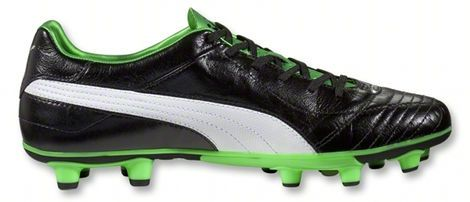 Puma King SL - Black / Green football boots - Fall 2012