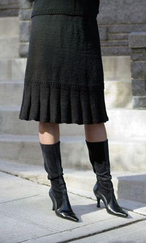 Little Flirt Skirt on Cascade Yarns.