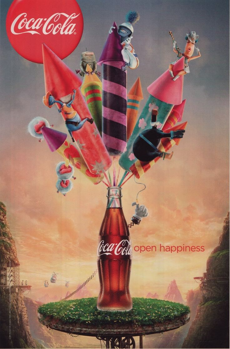 Coca cola ads images amp pictures becuo - Coca Cola Open Happiness By Ling Wei Cheng Via Behance