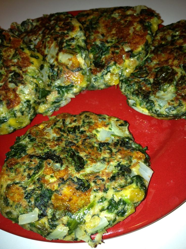 """Recipe FRIDAY Review: Spinach """"Burger"""" Easy, healthy and tasty meal :)"""