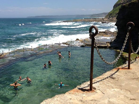 The Bogey Hole rock pool, Newcastle, N.S.W. (Australia) – Intelligent Travel. v@e.